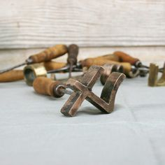 """Bronze Branding Iron """"4"""" now featured on Fab."""