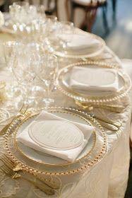 Cream & gold!