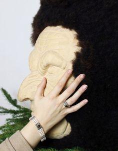 Perlenarmband und Silberring Ariana. Gefasst mit Granat. Fingerless Gloves, Arm Warmers, Winter, Fashion, Pretty Rings, Pearls, Armband, Fingerless Mitts, Winter Time