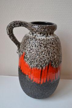 W. Germany Scheurich vase. by Vaastastischvintage on Etsy