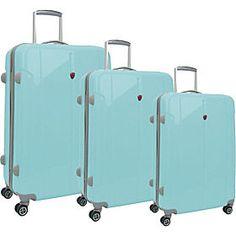 Pale Metallic Pink Luggage Set | Pink Metallica | Pinterest | The ...
