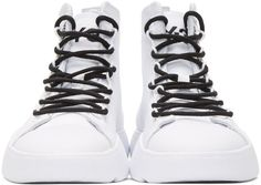 Grey Bashyo Sneakers in Black Sneakers For Sale, High Top Sneakers, Canvas Sneakers, High Tops, Shop Now, Lace Up, Grey, Heels, Leather