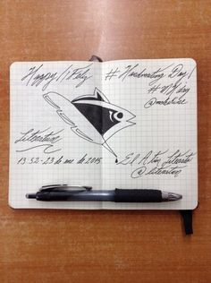 26th Creativity Challenge: Handwriting Day 2015 - El Atún Literato