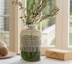 Macrame Vase