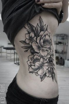 50 Peony Tattoo Designs and Meanings | Showcase of Art