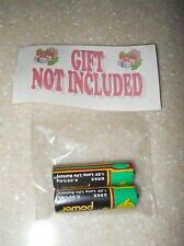 At last! The perfect present to go with those ones that don't come with batteries!  :-)