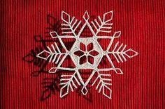 Beautiful Crochet Snowflake