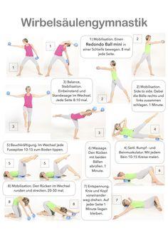 Für Deinen gesunden Rücken mit den Redondo Ball minis! Insgesamt findest Du 67 Trainings Charts unter: http://www.brasil-workout.de/Website/Trainings_Charts.html