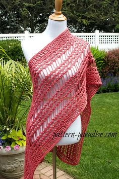 Ravelry: X Stitch Summer Wrap PDF15-193 pattern by Maria Bittner