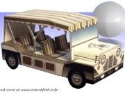 1965 Prisoner Morris Mini Moke Free Vehicle Paper Model Download