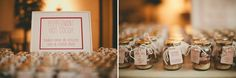 winter wedding hot chocolate party favors