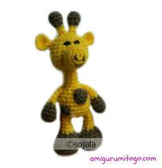 Amigurumi To Go: Little Bigfoot Giraffe Free Crochet Pattern