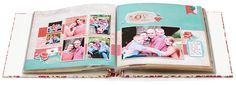 Great classic scrapbooking layout perfect for family photos.
