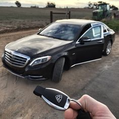 Keys to the eighth wonder of the world, the Mercedes-Maybach S600.  Mercedes Benz SClass Maybach S600