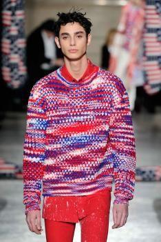 A/W 14/15 Paris men's key knitwear designers. raf simons