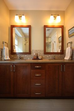 Lincoln Park Condo - traditional - Bathroom - Chicago - Habitar Design