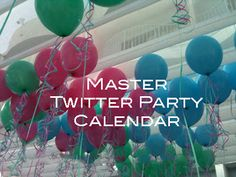 Mommy Blog Expert: Master Twitter Party Calendar June 26 - July 2 Parties w/ Prizes - Continuous Updates