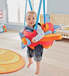 Haba® Aircraft Swing - Baby Toys Infants
