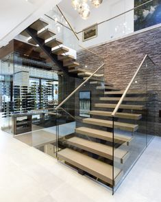 mrail Floating Stair