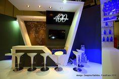 Exhibition stand: SOUROTI sa, at FoodExpo 2016, Athens, Greece. Design by Despina Kailidou.