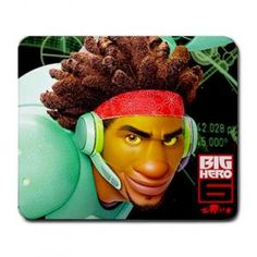 BIG HERO 6 MOVIE WASABI LARGE MOUSEPAD $8.99