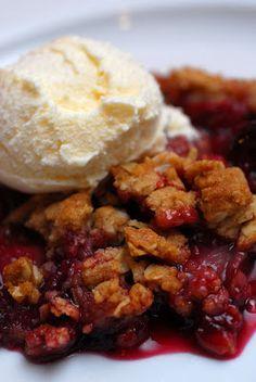 Sugar & Spice by Celeste: A Scrumptious Strawberry Crisp