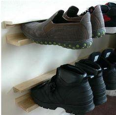DIY Shoe Rack | ShoeBlog