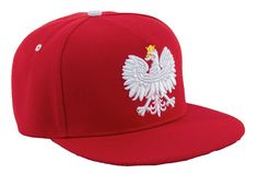 Epic Polish Eagle Snapback | Kotwica Hat Poland Pride Polska Unisex Baseball Cap