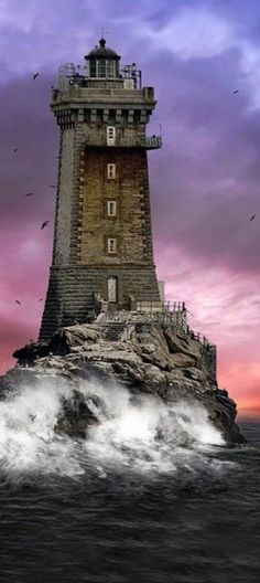 La Vieille #Lighthouse - #France    http://www.roanokemyhomesweethome.com