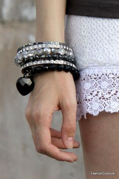 Bracelets love the bling