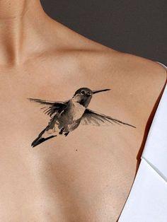 Humming Bird #AwesomeTattoos