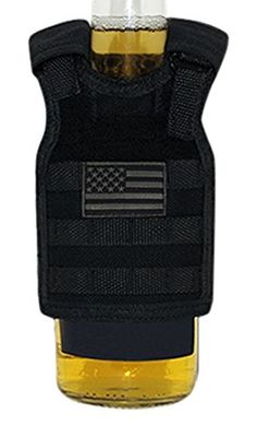 Perfect for summer, this Tactical Vest Koozie is a great way to show your support for the Thin Blue Line while keeping your drink cool!
