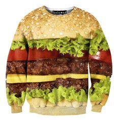 Burger Sweater by Beloved Wear | fab.com