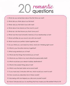 20 Romantic Questions to help while building your friendship into a relationship Date Night Questions, Fun Questions To Ask, Questions To Get To Know Someone, Dating Questions, Couple Quiz Questions, This Or That Questions, Truth Or Dare Questions, Random Questions, Would You Rather Questions