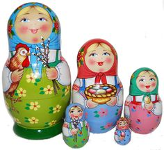 "Matryoshka ""Easter"""