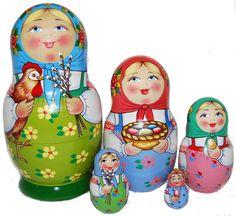 """Matryoshka """"Easter"""""""