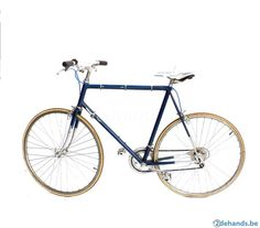 Vintage omgebouwde blauwe racefiets - koersfiets, Retro Bike - Te koop