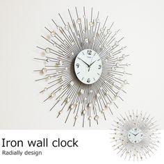 アイアン壁掛け時計 / 9100