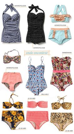 Tendencia: Moda de Baño Retro | AlquilaTusTocados.com