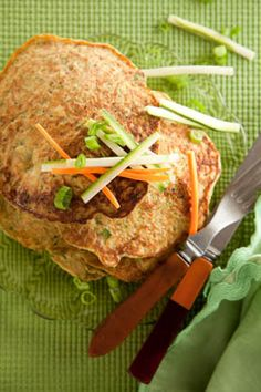 Paula Deen Vegetable Pancakes