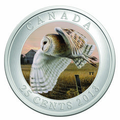 2013 Barn Owl Coin, in Birds of Canada Series - New from the Royal Canadian Mint is the 2013 Barn Owl Coin, the release in the Birds of Canadian series. The coin is composed from cupronickel to a specimen finish. Canadian Things, Gold And Silver Coins, Mint Coins, Canadian History, Commemorative Coins, World Coins, Owl Art, Rare Coins, Coin Collecting