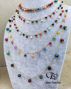 Gypsy Jewelry, Diy Jewelry, Jewelery, Jewelry Accessories, Handmade Jewelry, Jewelry Design, Fashion Jewelry, Jewelry Making, How To Make Necklaces