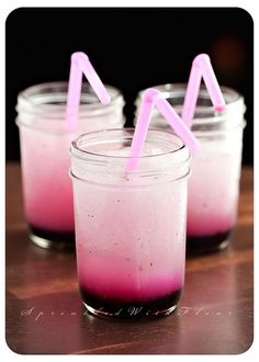 #COLORSOFSUMMER        Frozen Blueberry Lemonade by AmberP (Sprinkled With Flour), via Flickr