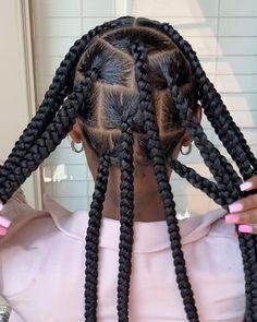 Box Braids Hairstyles For Black Women, Braids Hairstyles Pictures, Twist Braid Hairstyles, Braids For Black Hair, African Braids Hairstyles, Baddie Hairstyles, Hair Pictures, Black Girl Braids, Braided Hairstyles For Wedding