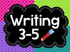 Loaded with fun, creative, motivational lesson for writing workshop! Love it!
