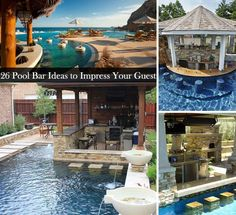 Pool Bar Ideas view in gallery wooden outdoor swimming pool bar 26 Summer Pool Bar Ideas To Impress Your Guests