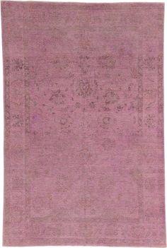 Purple 6' 6 x 9' 9 Over-Dyed Ziegler Oriental Rug   Oriental Rugs   eSaleRugs