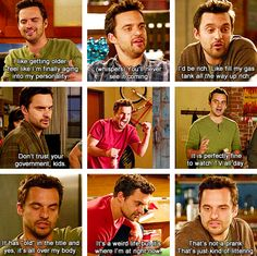 nick miller nick miller..never does anything