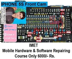 iPhone Front Camera Not Working Problem Solution Jumper Ways Iphone Repair, Mobile Phone Repair, Iphone 5s, Apple Iphone, Account Verification, Apple 6, All Mobile Phones, Hardware Software, Problem And Solution
