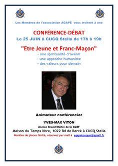 Conférence/débat avec Yves Max Viton : Etre Jeune et Franc-Maçon